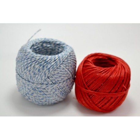 Baker twine blue and white plain red linen made in europe