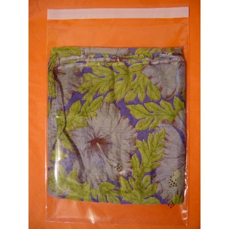 """Transparent """"cristal"""" PP bags XXS to A4 + adhesive tab"""