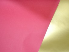 Red and GOLD paper DOUBLE SIDED COUNTER ROLLS