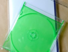 "Transparent ""cristal"" PP clear bags Cds Dvds + adhesive tab"